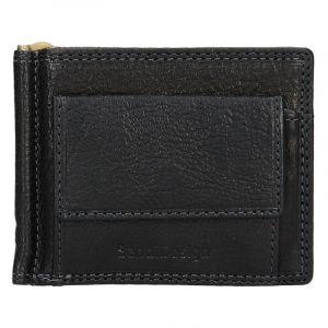 Panská kožená dolarovka SendiDesign Fredy – černá 12950