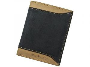 Pánská kožená peněženka Pierre Cardin Eric – černo-hnědá 12738