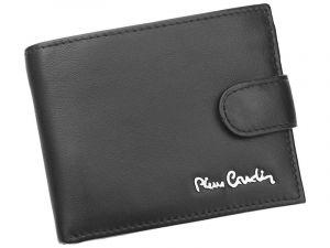 Pánská kožená peněženka Pierre Cardin Paul – černá 12728