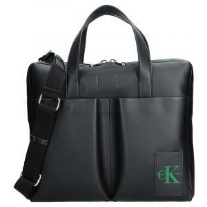 Pánská taška přes rameno Calvin Klein Satchel – černá 12515