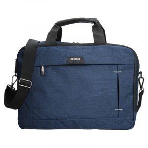 Pánská taška přes rameno Enrico Benetti Paul – modrá 12475