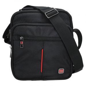 Pánská taška přes rameno Enrico Benetti London – černá 12239