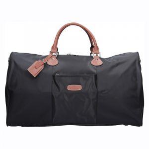 Unisex cestovní taška Hexagona Moyen – černá 11908