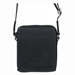 Pánská taška na doklady Hexagona Martin – černá 11658