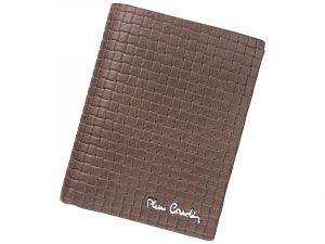 Pánská kožená peněženka Pierre Cardin Monet – hnědá 11391