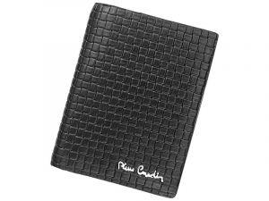 Pánská kožená peněženka Pierre Cardin Monet – černá 11390