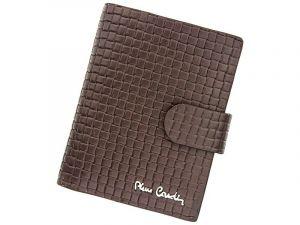 Pánská kožená peněženka Pierre Cardin Gussepe – hnědá 11389