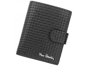 Pánská kožená peněženka Pierre Cardin Gussepe – černá 11388