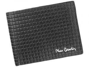 Pánská kožená peněženka Pierre Cardin Juan – černá 11387