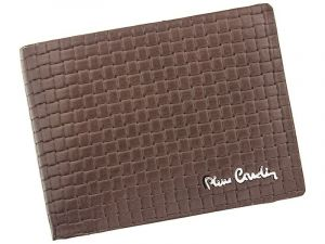 Pánská kožená peněženka Pierre Cardin Juan – hnědá 11386