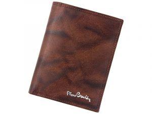 Pánská kožená peněženka Pierre Cardin Laurent – hnědá 11382