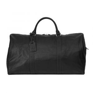 Pánská celokožená cestovní taška Hexagona Bolt – černá 11373
