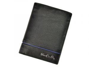 Pánská kožená peněženka Pierre Cardin Alain – černo-modrá 11244