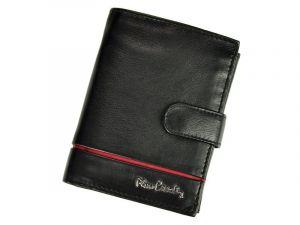 Pánská kožená peněženka Pierre Cardin Philippe – černo-červená 11243