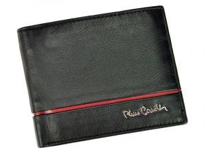 Pánská kožená peněženka Pierre Cardin Michel – černo-červená 11241