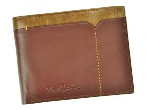 Pánská kožená peněženka Pierre Cardin Cactus – hnědá 11228