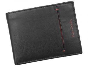 Pánská kožená peněženka Pierre Cardin Elvin – černo-červená 11199