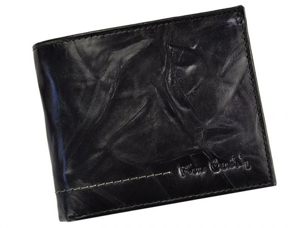 Pánská kožená peněženka Pierre Cardin Texas – černá 11175