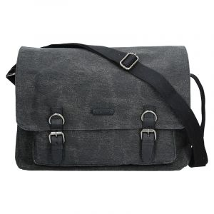 Pánská taška Katana Bredly – černo-šedá 11160