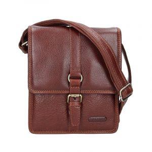 Pánská celokožená taška Katana Bertam – hnědá 11123