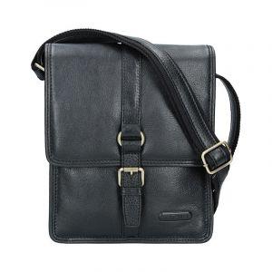 Pánská celokožená taška Katana Bertam – černá 11122