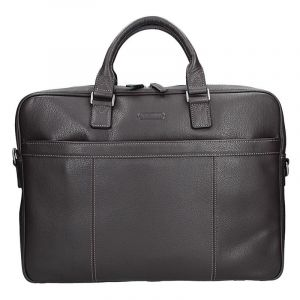 Pánská kožená taška přes rameno Katana Simons – hnědá 11099