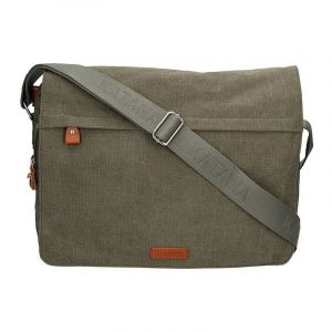 Pánská taška Katana Borsek – zeleno-šedá 11058