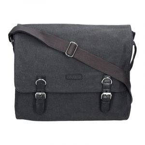 Pánská taška Katana Toile – černá 11055