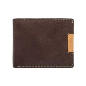 Pánská kožená peněženka Lagen Koudy – hnědá 11033
