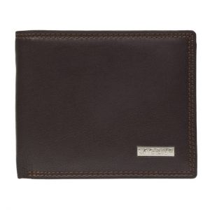 Pánská kožená peněženka Lagen Norbert – hnědá 11022