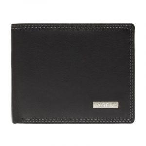 Pánská kožená peněženka Lagen Norbert – černá 11000