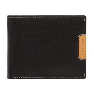 Pánská kožená peněženka Lagen Koudy – černá 1999