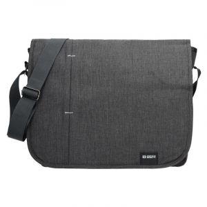 Pánská taška přes rameno Enrico Benetti Monter – šedo-černá 1814
