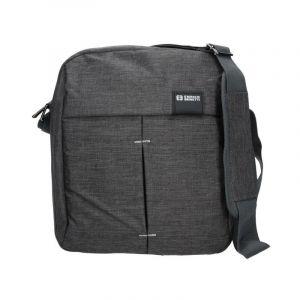 Pánská taška přes rameno Enrico Benetti Filip – šedo-černá 1800