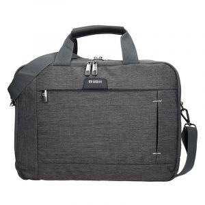 Pánská taška přes rameno Enrico Benetti Paul – šedo-černá 1771