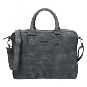 Pánská taška přes rameno Enrico Benetti Sevilla – černo-šedá 1731