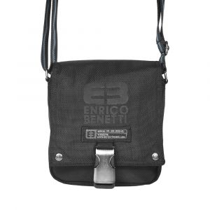 Pánská taška přes rameno Enrico Benetti Peter – černá 1701