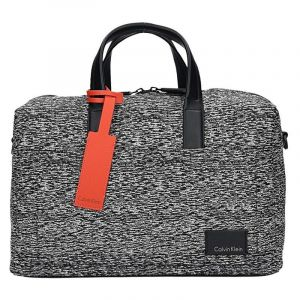 Pánská cestovní taška Calvin Klein Oliver – černo-bílá 1594