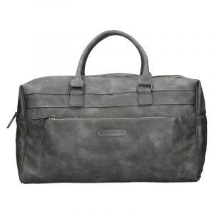 Trendy cestovní taška Enrico Benetti Travel – šedá 18501
