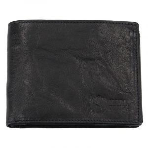 Pánská kožená peněženka SendiDesign SNW6856 – černá 1570