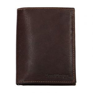 Pánská kožená peněženka SendiDesign 5602 (P) VT – hnědá 1562