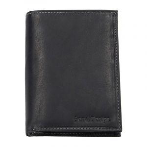 Pánská kožená peněženka SendiDesign 5602 (P) VT – černá 1561