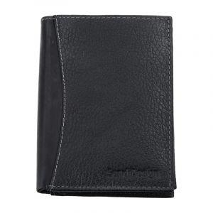 Pánská kožená peněženka SendiDesign 5501 FH – černá 1553
