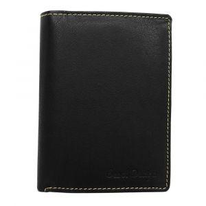 Pánská kožená peněženka SendiDesign Walt – černá 1452