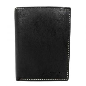 Pánská kožená peněženka SendiDesign Deren – černá 1451