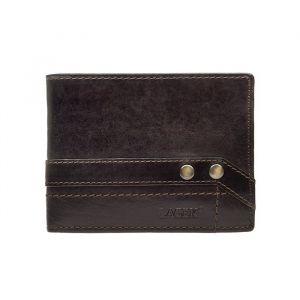 Pánská kožená peněženka Lagen Jarko – hnědá 1213