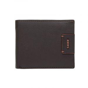 Pánská kožená peněženka Lagen Tristan – hnědá 1210