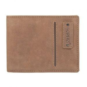 Pánská kožená peněženka Lagen Hubert – hnědá 1197