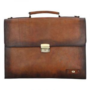 Luxusní pánská kožená taška Daag ALIVE 35 – hnědá 1183
