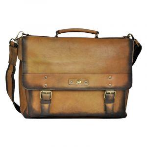 Luxusní pánská kožená taška Daag ALIVE 09 – hnědá 1164